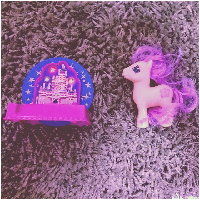 麥當勞_城堡小馬玩具