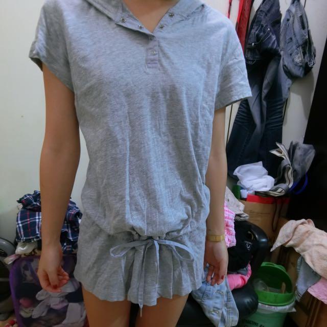 灰色休閒衣(近全新)