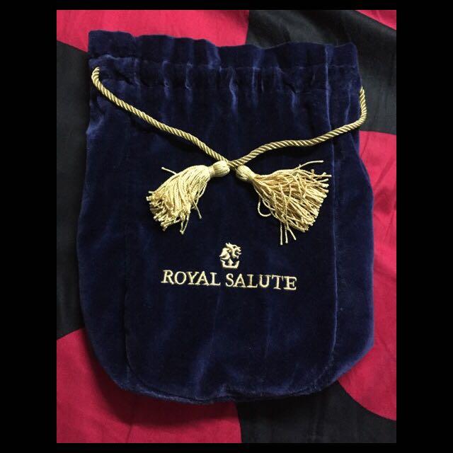 皇家禮炮 絨布袋