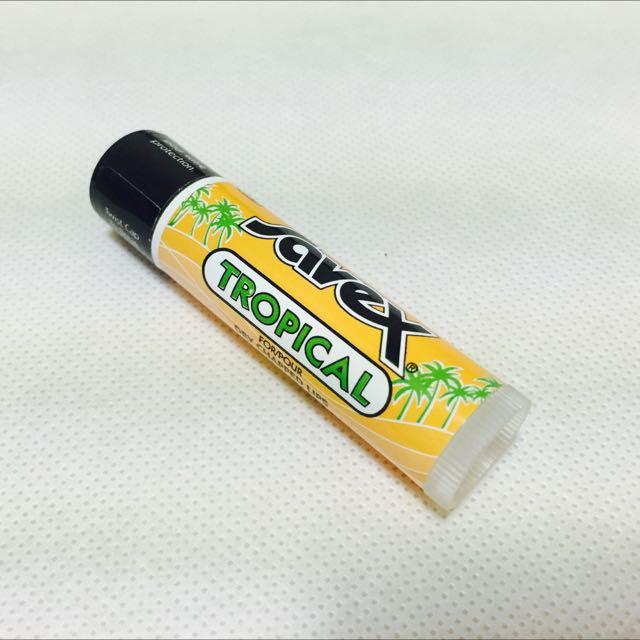 🆕 莎薇 Savex 硬管護唇膏(熱帶水果)