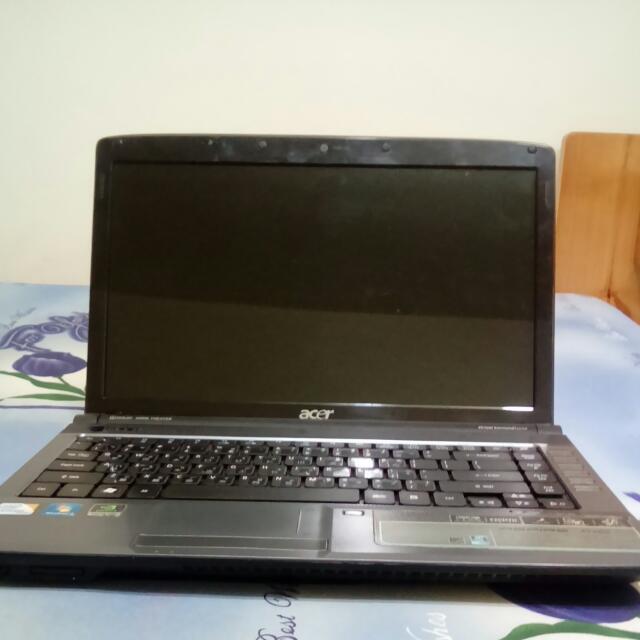 Acer 筆電4736G 無法開機