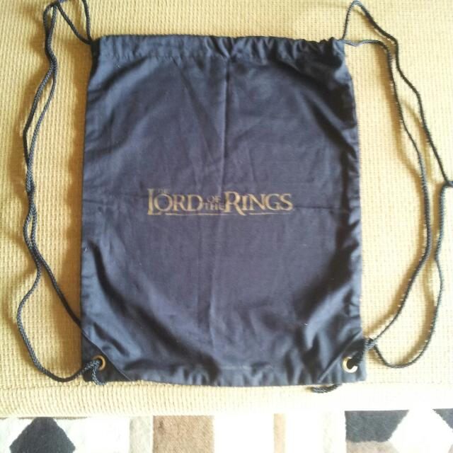 An Exclusive Stringed Backbag Of Lord Of The Rings