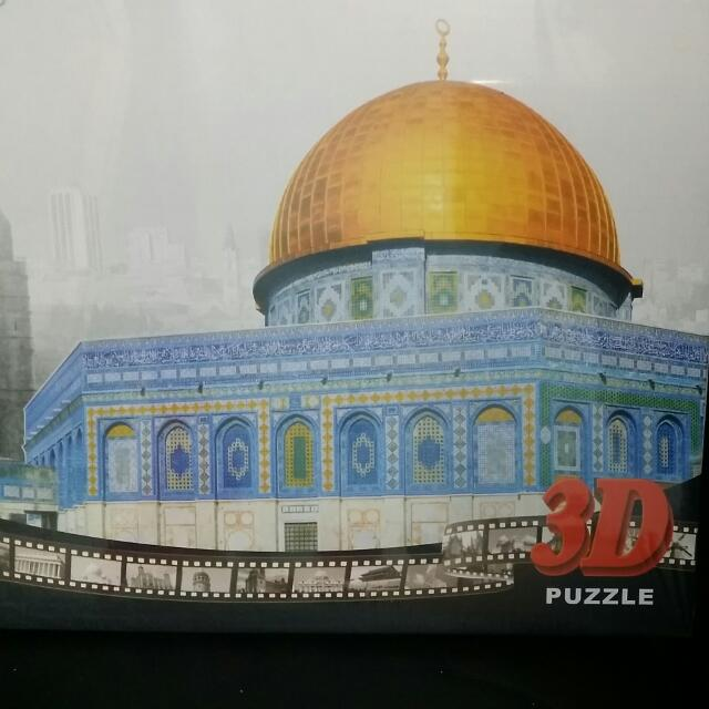 DIY 3D立體拼圖 阿克薩清真寺 耶路薩冷