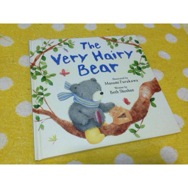 *Hot & New!!! The Very Hairy Bear Bedtime Story