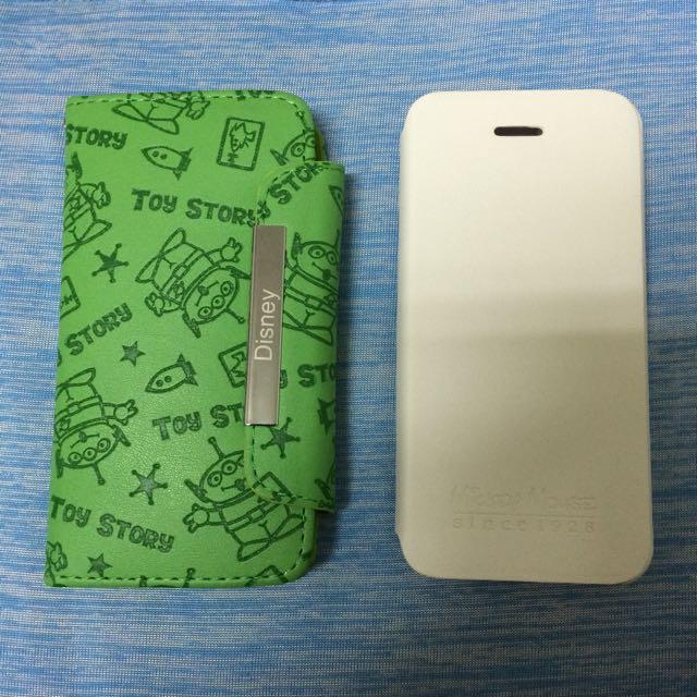 i5s 手機皮套 手機殼 超優惠 (三眼怪款 米奇款)
