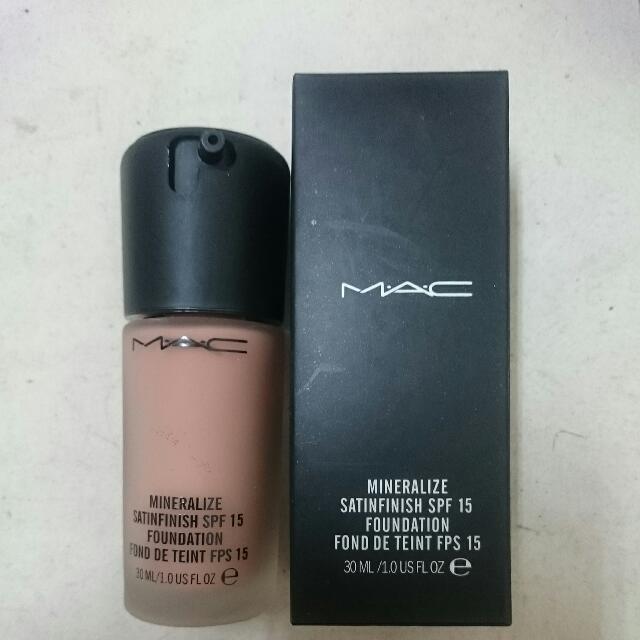 Mac粉底液