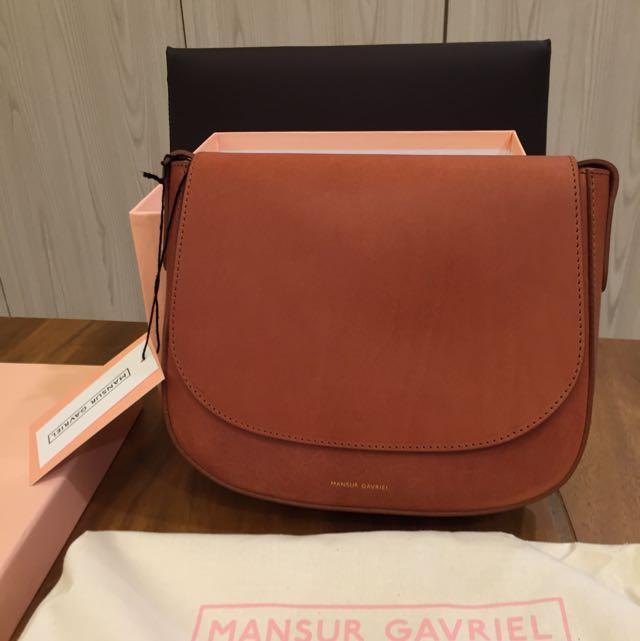 2a85b82dd9e7 Mansur Gavriel Crossbody (regular) Brandy Colour