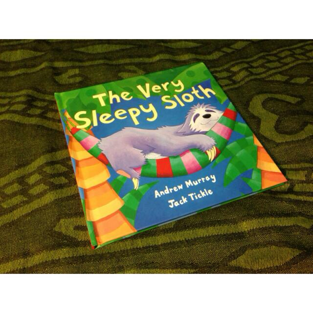 *NEW & HOT!!! The Very Sleepy Sloth Bedtime Storybook