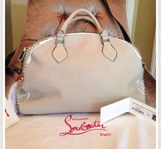 Louboutin Large Panettone Spiked Satchel