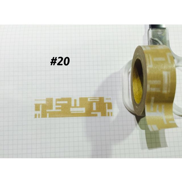 紙膠帶分裝🆕1單位100cm
