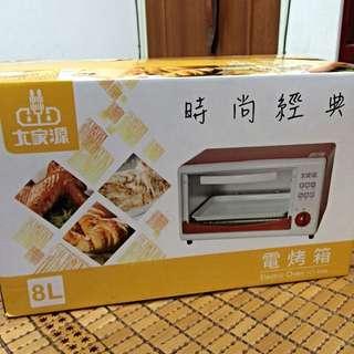 大家源 8L電烤箱 TCY-3806