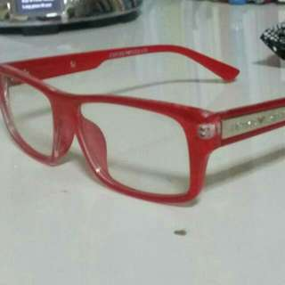 """GIORGIO ARMANI SPECS  #RED FRAME  **BRAND NEW**  ~Cash On & Meet Up @ 7 Eleven Eunos MRT Or Tampines MRT~  <Other Location MRT Will Be Charge Extra $4 North & West Site>  ~""""Hurry UP While STOCK LAST!!""""~"""