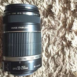 canon lens [55-250mm] SOLD