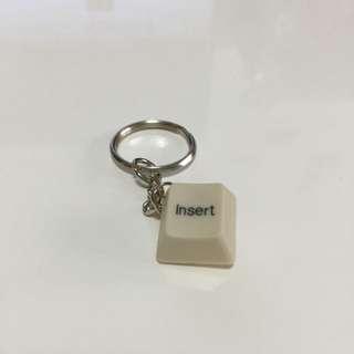 (手工)鍵盤鑰匙圈-Insert