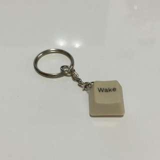 (手工)鍵盤鑰匙圈-Wake