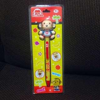 全新可愛猴子造型筆