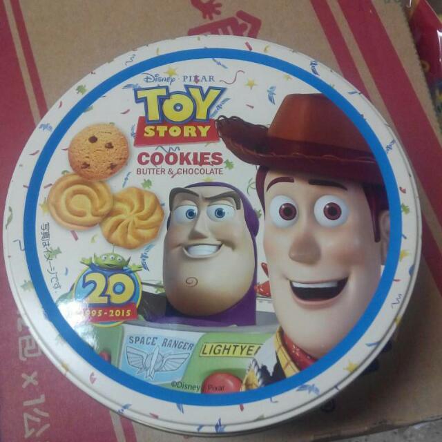 (香港代購9/1到貨) 玩具總動員/冰雪奇緣 鐵盒餅乾 (迪士尼系列已售完)