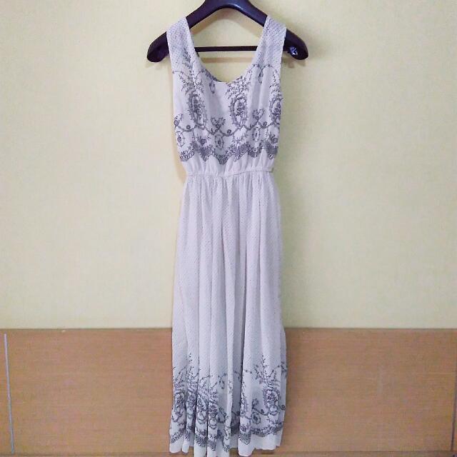 9成新 質感氣質長裙