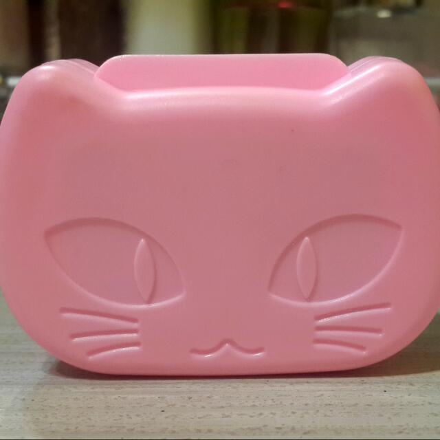 可愛貓咪隱眼盒
