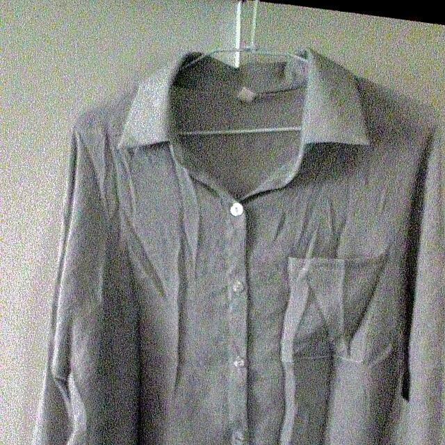 棉麻寬鬆襯衫