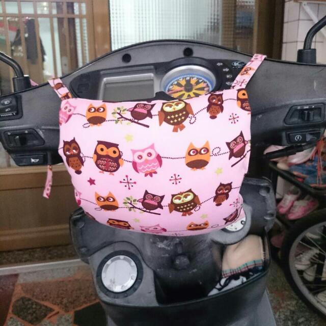 (預購)幼兒防撞機車龍頭枕(綁帶款)