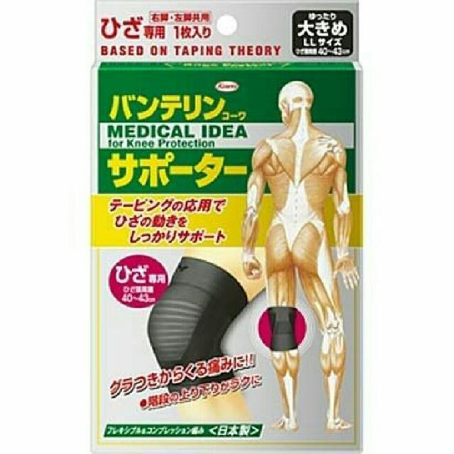 日本製.單入.立體護膝 右左一樣高透氣 3D人體工學腿杯運動用護膝 護具 排汗 彈性佳 慢跑 登山 籃球 自行
