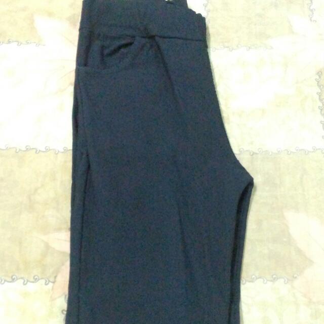 【顯瘦】鉛筆褲 黑S