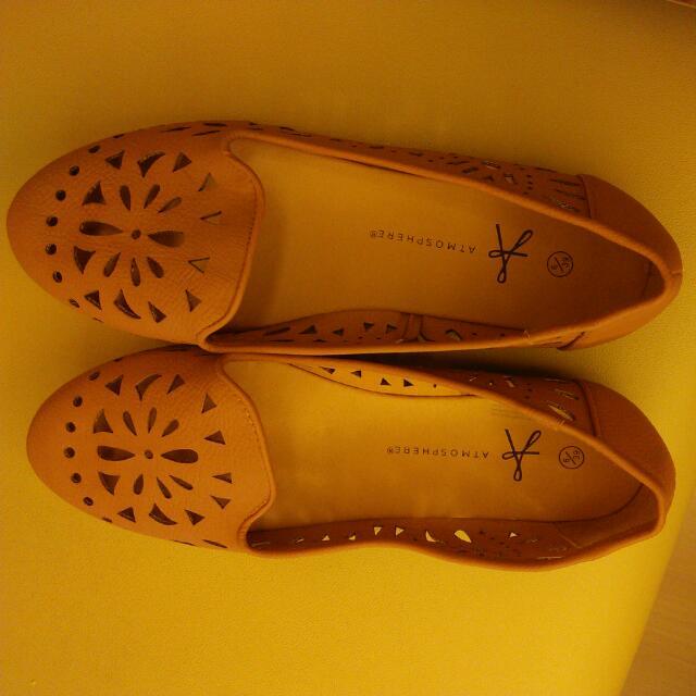 英國帶回來的ATMOSPHERE皮製時尚鞋
