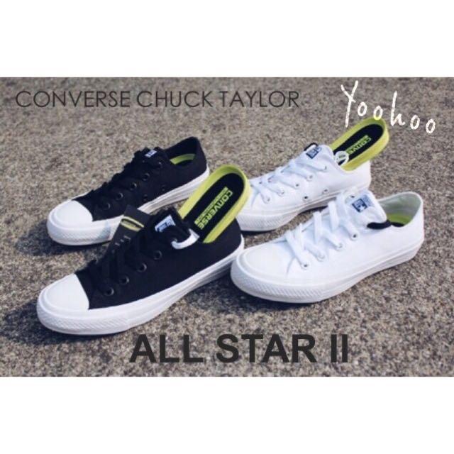 Converse Chuck Taylor All Star II 低筒