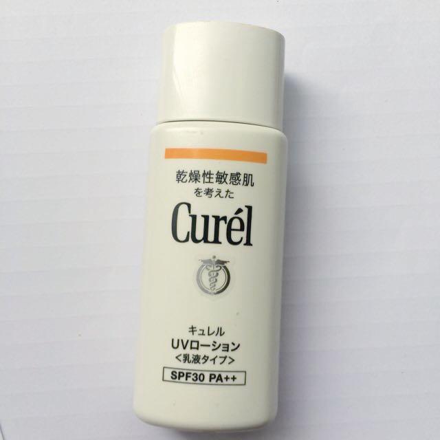 保留)curel臉身體用防曬
