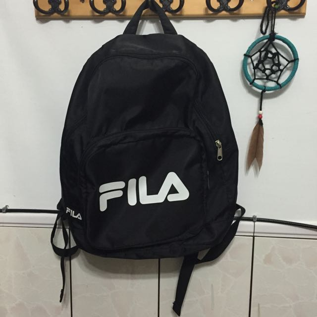 FILA 尼龍後背包