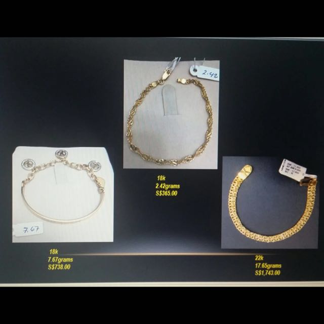 Gold Bracelet FOR SALE