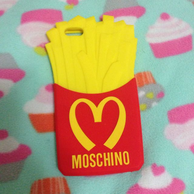 iPhone 6 Plus 6s薯條🍟手機殼 軟殼🍟moschino🍟i6plus