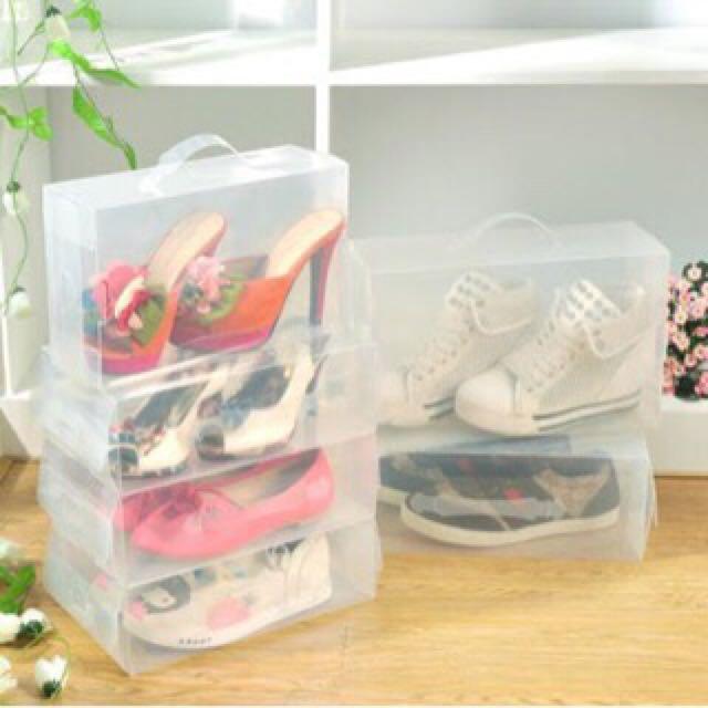 Kotak sepatu Transparan / Transparant Shoes Box