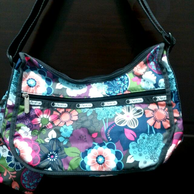 【免郵】Lesportsac★Flower Folly斜背包