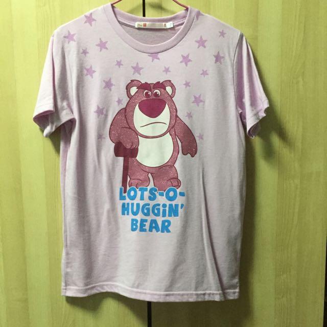 UNOQLO草莓熊踢