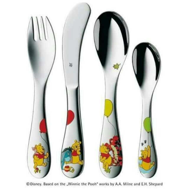 (全新)WMF 德國精品兒童餐具4件組