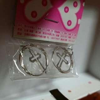 (免錢)十字架耳環