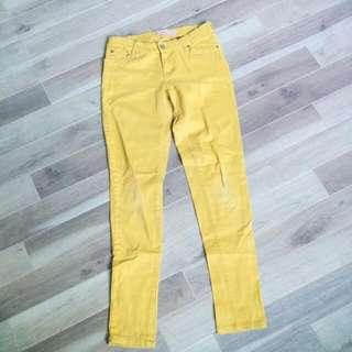 Judy Blue Mustard Yellow Jeans