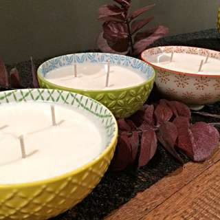 Gorgeous Moroccan Bowl Soy Candle