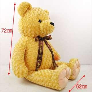 ✌️玫瑰熊 娃娃 大型娃娃熊