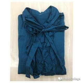 土耳其藍襯衫
