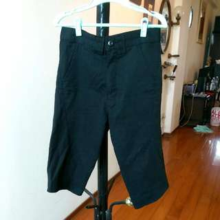 Dickies黑色七分褲