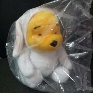 Out Of Stock Winnie The Pooh In Rabbit Suit Plushie (Macs)