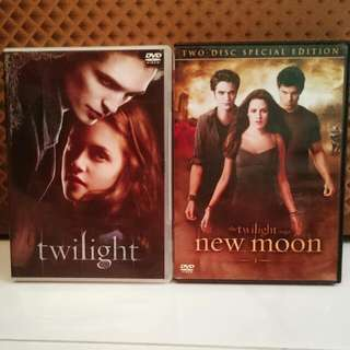 Twilight & The Twilight Saga: New moon (DVD)