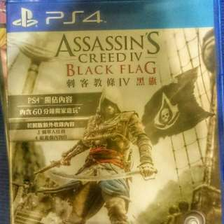 PS4. 刺客教條黑旗(中文版)
