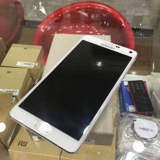 Samsung Note4二手 白色 9.9成新