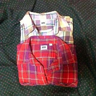 Uniqlo Women Flannel Size M
