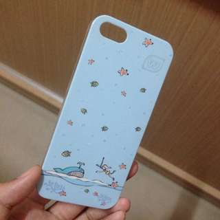 淺藍海底i5s手機殼