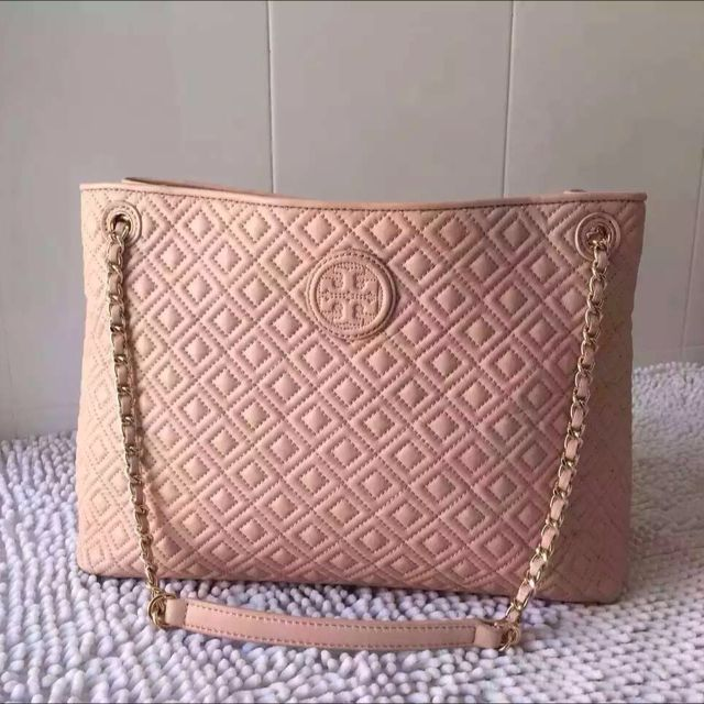 50% f Tory Burch Marion Quilted Chain Shoulder Slouchy Tote